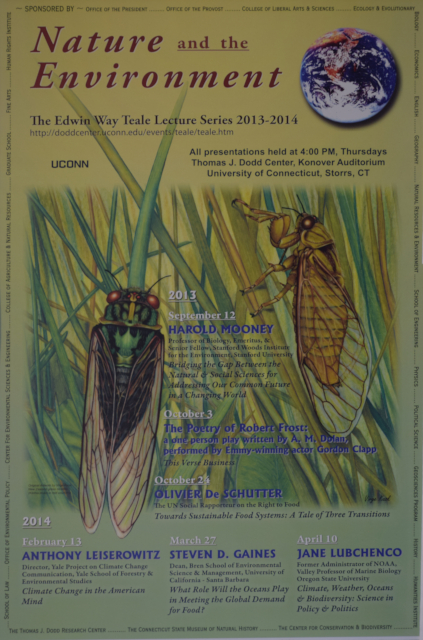 Teale Lecture Series Poster 2013-2014