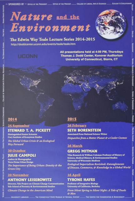 Teale Lecture Series Poster 2014-2015