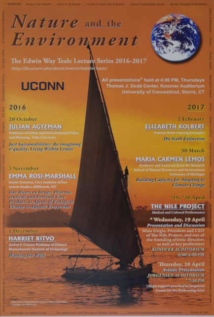 Teale Lecture Series Poster 2016-2017